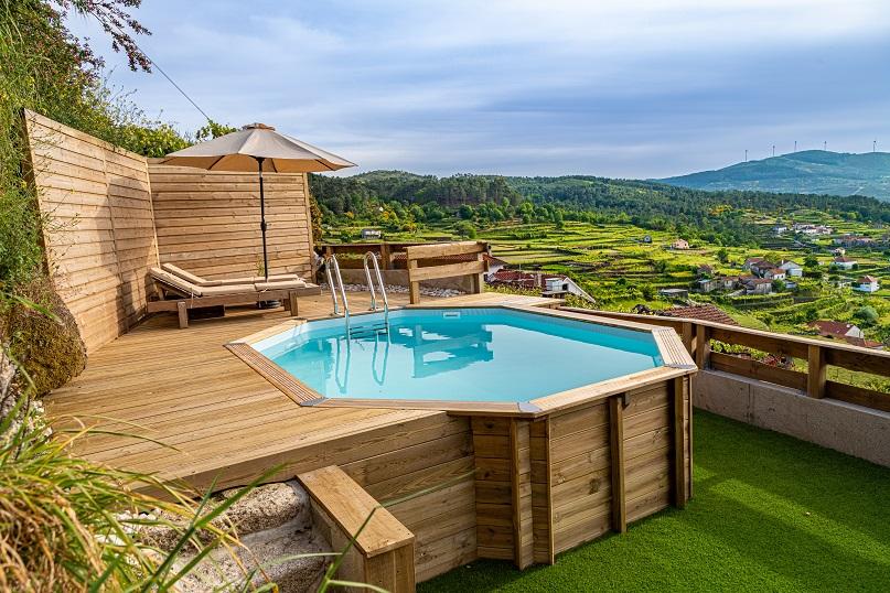 Chalé T3 com piscina privada em Monção