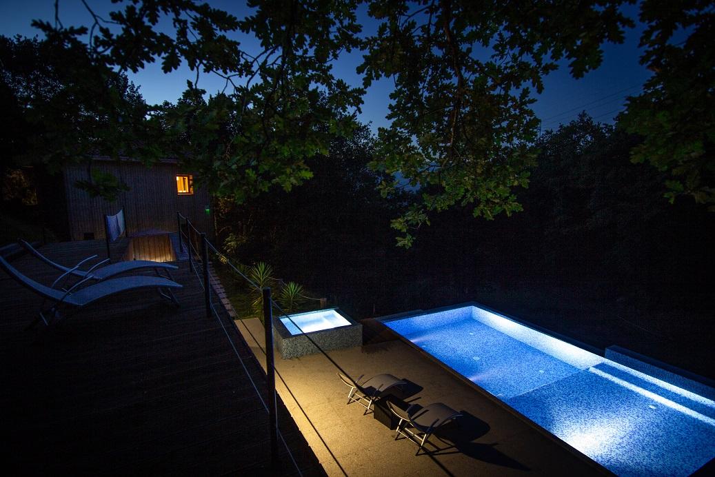 T5 com piscina e SPA privada